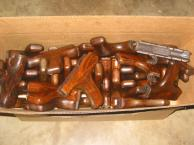 Romanian Wood Fwd Hand Guard w/Pistol Grip