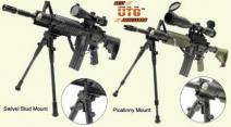 DELUXE UNIVERSAL RAIL MOUNT FOLDABLE BIPOD