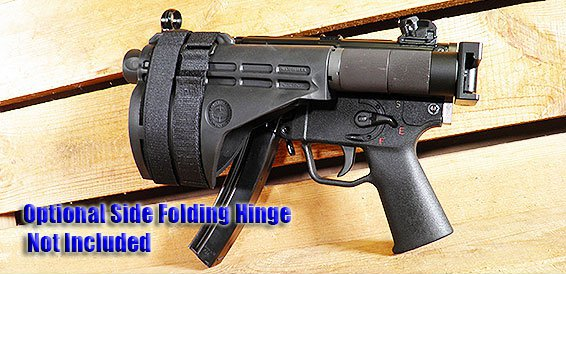 AA5-PSBK MP5 K STYLE FOLDING PISTOL ARM BRACE